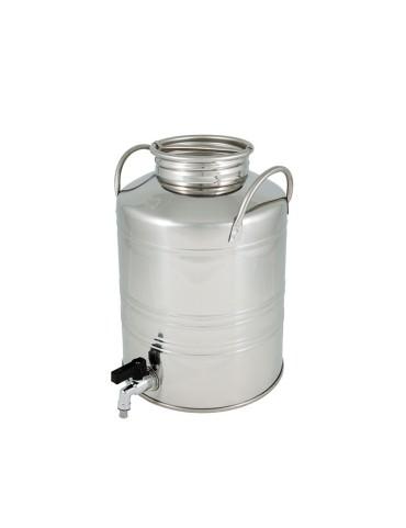 Fût Inox 10L avec robinet...