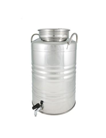 Fût inox 30L avec robinet...
