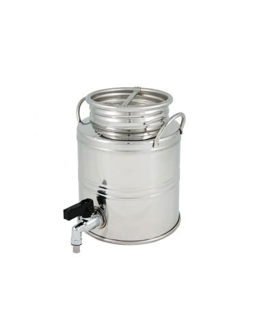 Fût inox - 3L avec robinet...