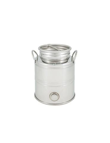 Fût inox 3L vendu avec robinet anti-goutte - Superfustinox
